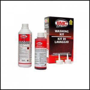 Kit Pulizia detergente + olio per lavaggio Filtro Sportivo cotone BMC K&N