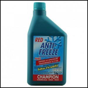 ANTI-FREEZE ANTIGELO PURO CONCENTRATO COLORE ROSSO 1000 ml.