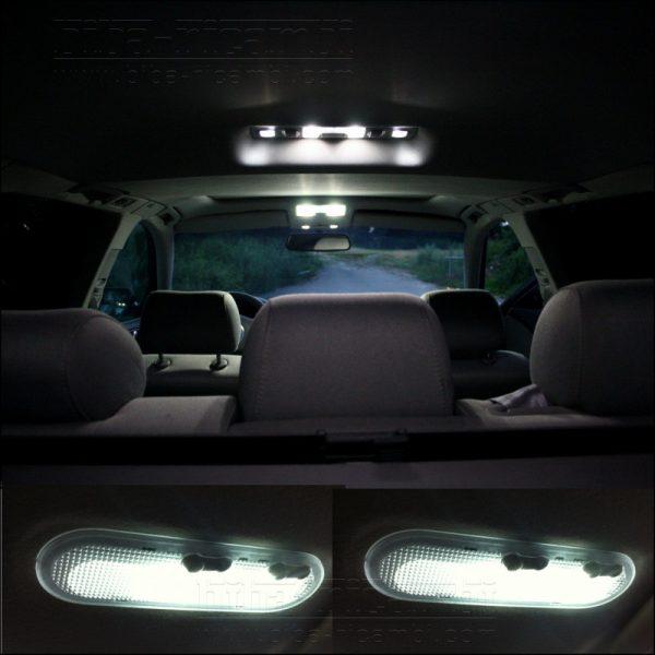 COPPIA LAMPADINE LED LUCI POSIZIONE TARGA INTERNI AUTO T10 5 SMD W5W 'BIANCO'