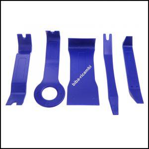 Set per smontaggio dei elementi ornamentali leve in plastica