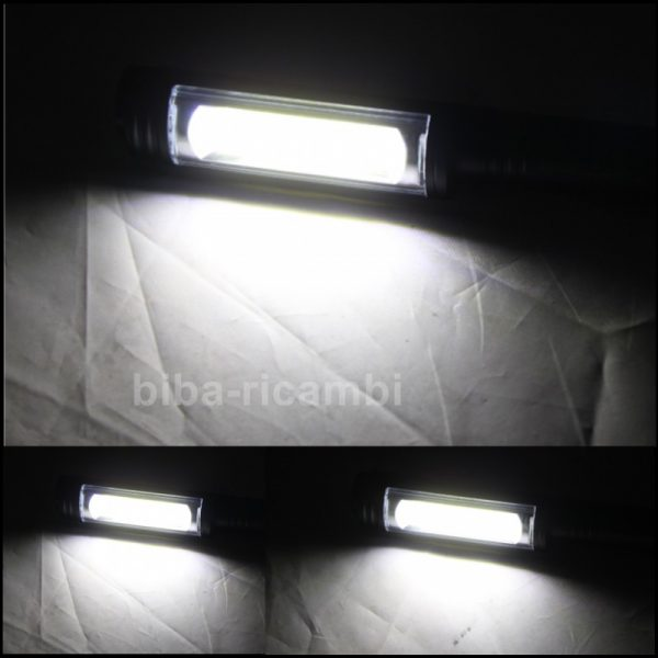 Torcia professionale in alluminio ad alta luminosità