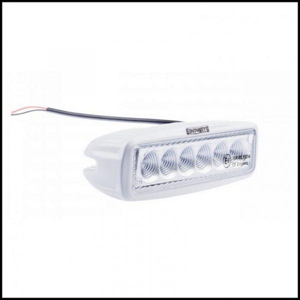 FARO LUCE LED OMOLOGATO 12V 18W 6 LED CREE 30°