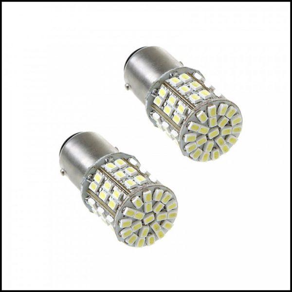 BA15YS 12V 21W LAMPADINE LED 50 SMD