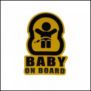Adesivo BABY ON BOARD Stickers