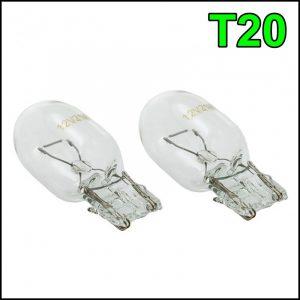 T20 12V / 21W LAMPADINE 1 FILAMENTO (2 pzz)