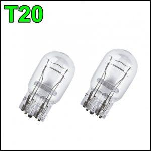 T20 12V / 21/5W LAMPADINE 2 FILAMENTI (2 pzz)
