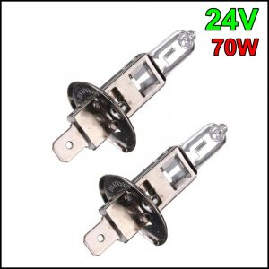 COPPIA LAMPADINA H1 24V 70W P14,5s