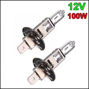 COPPIA LAMPADINA H1 12V 100W P14,5s