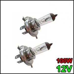 COPPIA LAMPADINA H4 12V 90W/100W P43t