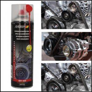 Spray anti fischio cinghia poly-v alternatore 500 ml