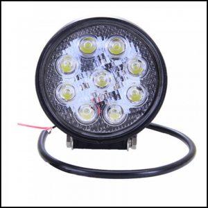 FARO LUCE LED 12/24V 27W 9 LED