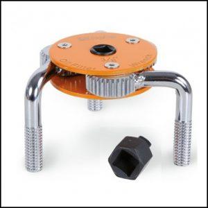 Chiave autoregolabile a tre bracci per filtri olio destrorsa-sinistrorsa BETA