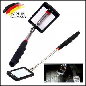 Specchio allungabile 870 mm Ispezione a Led Specchietto Snodabile auto camper