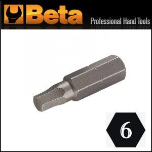 Inserto maschio esagonale per avvitatori M6 Beta