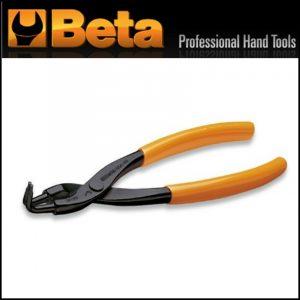 Pinze a becchi piegati per anelli elastici di sicurezza Lunghezza 170 mm