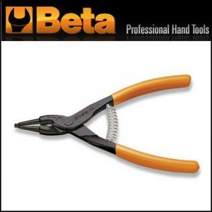 Pinze a becchi diritti per anelli elastici di sicurezza 175 mm