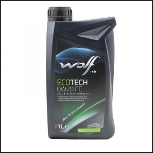 Wolf olio Motore ECOTECH 0W20 FE