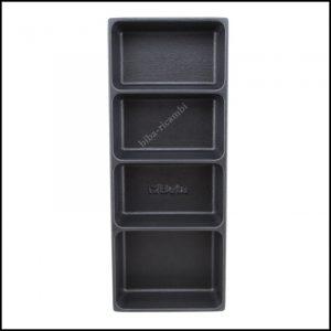 Termoformati portaminuterie in materiale plastico per tutti i modelli di cassettiere e per i carrelli