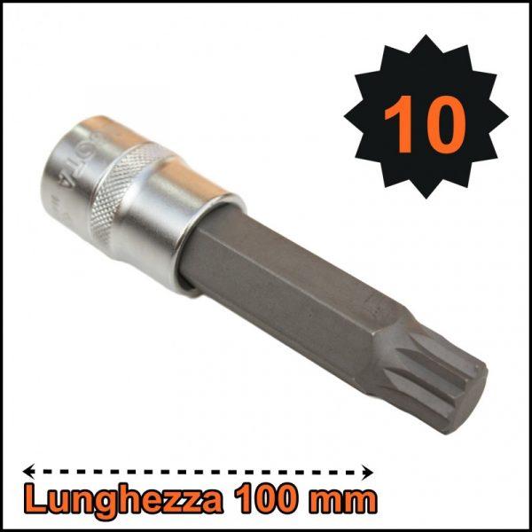 BUSSOLA PER VITI XZN MILLERIGHE LUNGHEZZA TOTALE 100 mm
