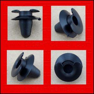 Bottoni Clips Auto Ferma Panneli Fissaggi Rivetti In Plastica Opel (10pz)