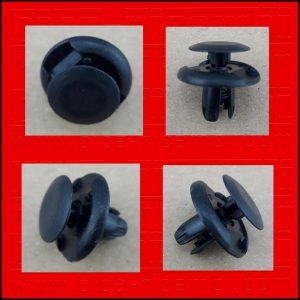 5 X BOTTONE DI FISSAGGIO HONDA 91512SX0003