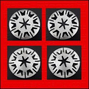 5 X BOTTONE DI FISSAGGIO DIAMETRO 30 MM TOYOTA | BMW | MERCEDES BENZ