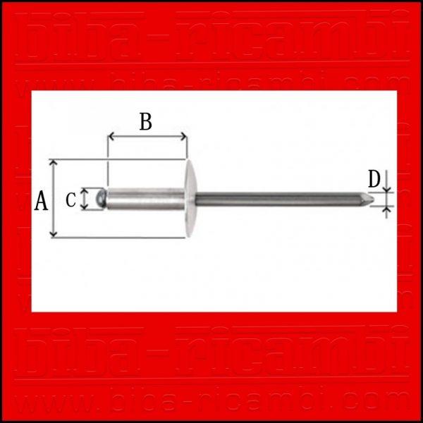 5 X RIVETTI IN PLASTICA FORD | GM | BMW | CHRYSLER | VW O.E.M 14070914