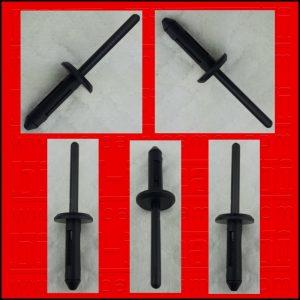5 X RIVETTI IN PLASTICA FORD | GM | BMW | CHRYSLER | VW O.E.M 204655395 | 6004212