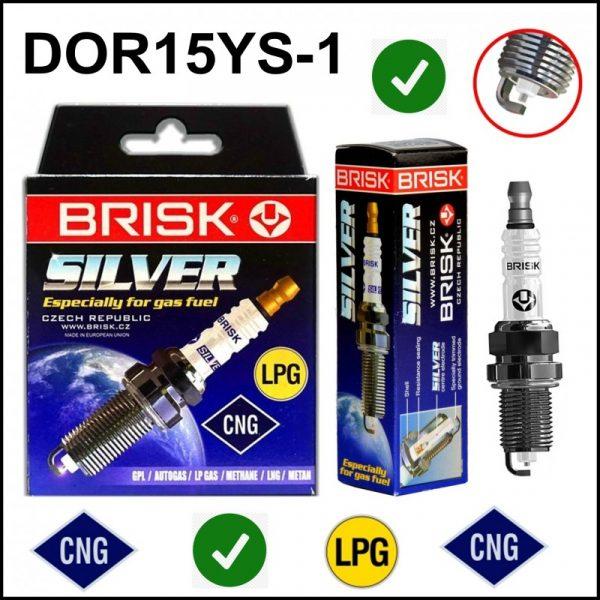 Candela Gpl Metano Brisk Silver DOR15YS-1