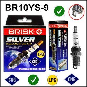 Candela Gpl Metano Brisk Silver BR10YS-9