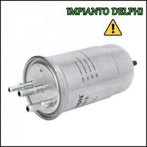 Filtro Carburante Gasolio Impianto Delphi 1.5 dCi 66kw | 90cv