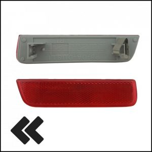 Catadiottro Paraurti Posteriore Lato SX-Guidatore