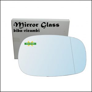 Vetro Specchio Retrovisore Asferico Lato Dx-Passeggero Per Ssangyong Rexton (GAB) dal 2002-2012