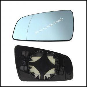 Piastra Specchio Retrovisore Termico Asferico Lato Sx-Guidatore Per Opel Zafira (B) solo dal 2005-2008