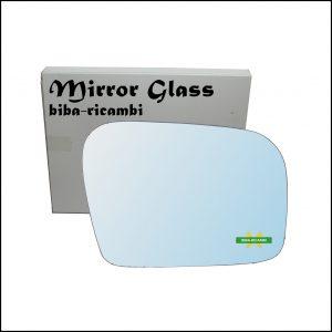 Vetro Specchio Retrovisore Cromato Lato Dx-Passeggero Per Subaru Outback II (BL,BP) dal 2003-2010