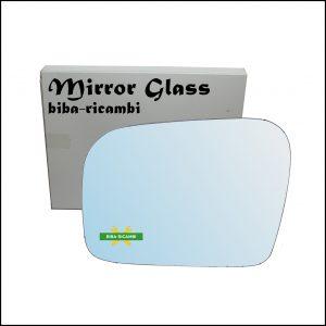 Vetro Specchio Retrovisore Cromato Lato Sx-Guidatore Per Subaru Outback II (BL,BP) dal 2003-2010