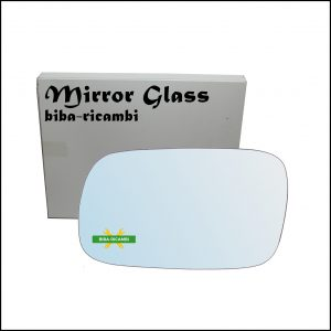Vetro Specchio Retrovisore Cromato Lato Sx-Guidatore Per Subaru Forester II (SG) solo dal 2002-2007