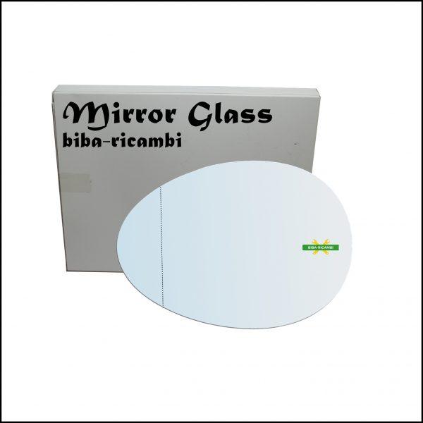 Vetro Specchio Retrovisore Asferico Lato Sx-Guidatore Per Mini Cooper (R60) Countryman dal 2010-2016