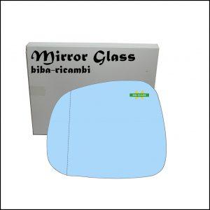 Vetro Specchio Blue Asferico Lato Sx-Guidatore Per Ssangyong Rexton (W) dal 2012>