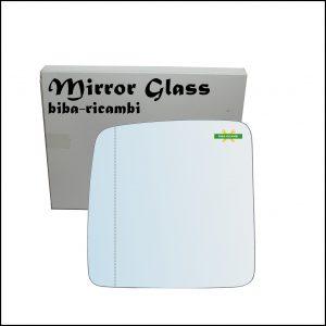 Vetro Specchio Retrovisore Asferico Lato Sx-Guidatore Per Suzuki Jimny I (SN) solo dal 2007>