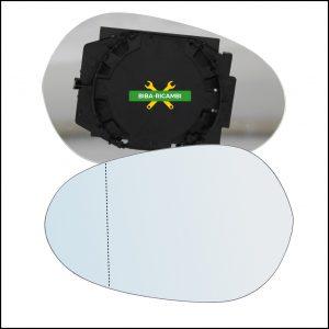 Piastra Specchio Asferico Lato Sx-Guidatore Per Lancia Ypsilon I (843) solo dal 2003-2007